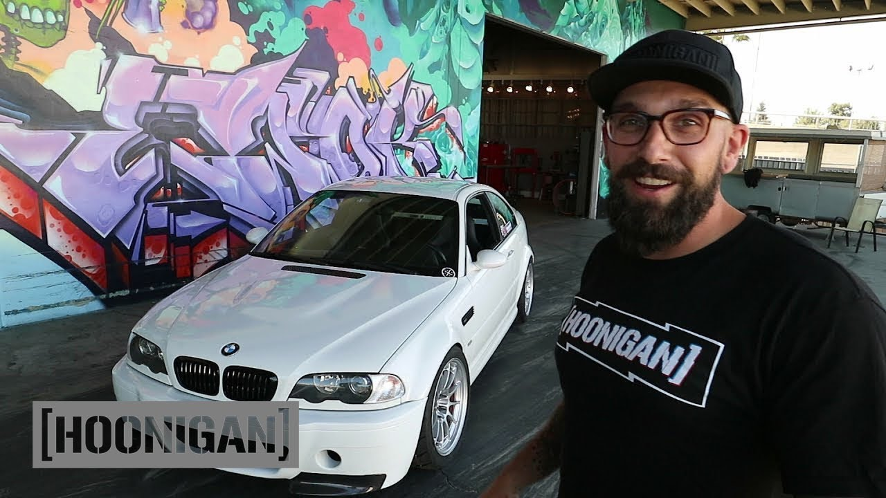 Bmw E46 M3 >> [HOONIGAN] DT 044: Vin's E46 M3 is Track Ready - YouTube
