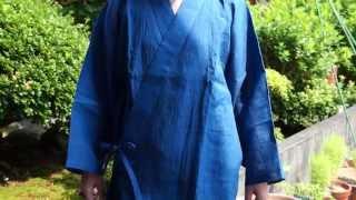 夏におすすめ!日本製 本麻100%作務衣