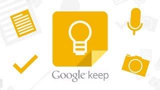 Обзор заметок Google Keep для Android