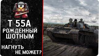 T 55A. Рожденный шотным — нагнуть не может?