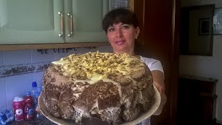 ВКУСНЕЙШИЙ БИСКВИТНЫЙ ТОРТ на 2 КГ ! Торт из кусочков бисквита
