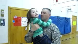 Soldiers coming home  US  Marine Surprises His Mom, Sister & Grandma for Christmas 2010