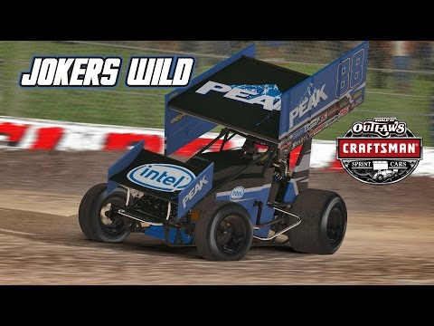 Generate iRacing: First Race on Dirt - Jokers Wild (410 Sprintcar @ Eldora) Pics
