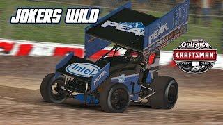 iRacing: First Race on Dirt - Jokers Wild (410 Sprintcar @ Eldora)