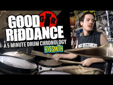 Good Riddance: A 5 Minute Drum Chronology - Kye Smith [4K]