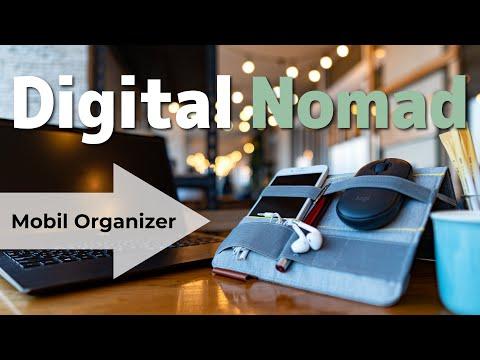 ノートPC周辺機器をスマートに持ち運びできるデジタルノマドワーカーのためのBeBlauを紹介します。