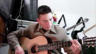 tutorial alabanza adoracion Sangre que me da la paz en guitarra circulo Sol mayor