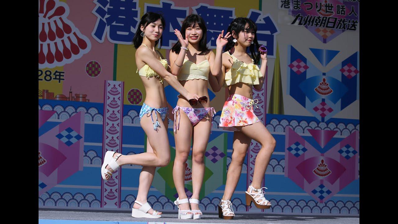 博多どんたく水着ファッションショー  港本舞台 2016年5月4日