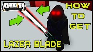 Come ottenere la Nuova Lazer Blade Madcity Roblox