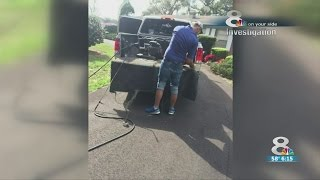 Deputies warn about paving scammers