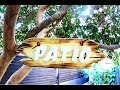 How to make a Wooden patio sign scroll saw raised letters torched rustic