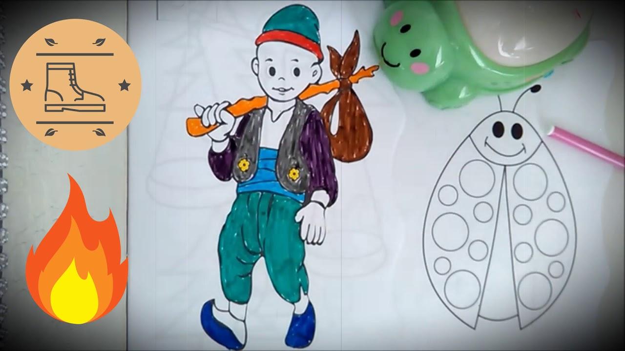 Rengarenk çocuk Dünyası Tosbik Ile Müzikli Boyama Serisi 1 Keloğlan