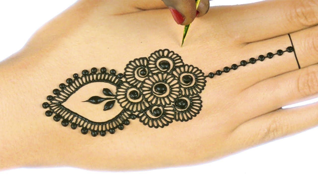 Henna Mehndi S : Learn easiest henna mehndi design step by mehendi designs for