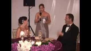 This Maid of Honor Speech will blow your mind!