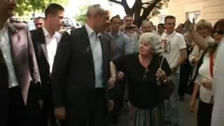 Boris Tadić u Pančevu: Skaredno je da Nikolić meni govori o poštenju