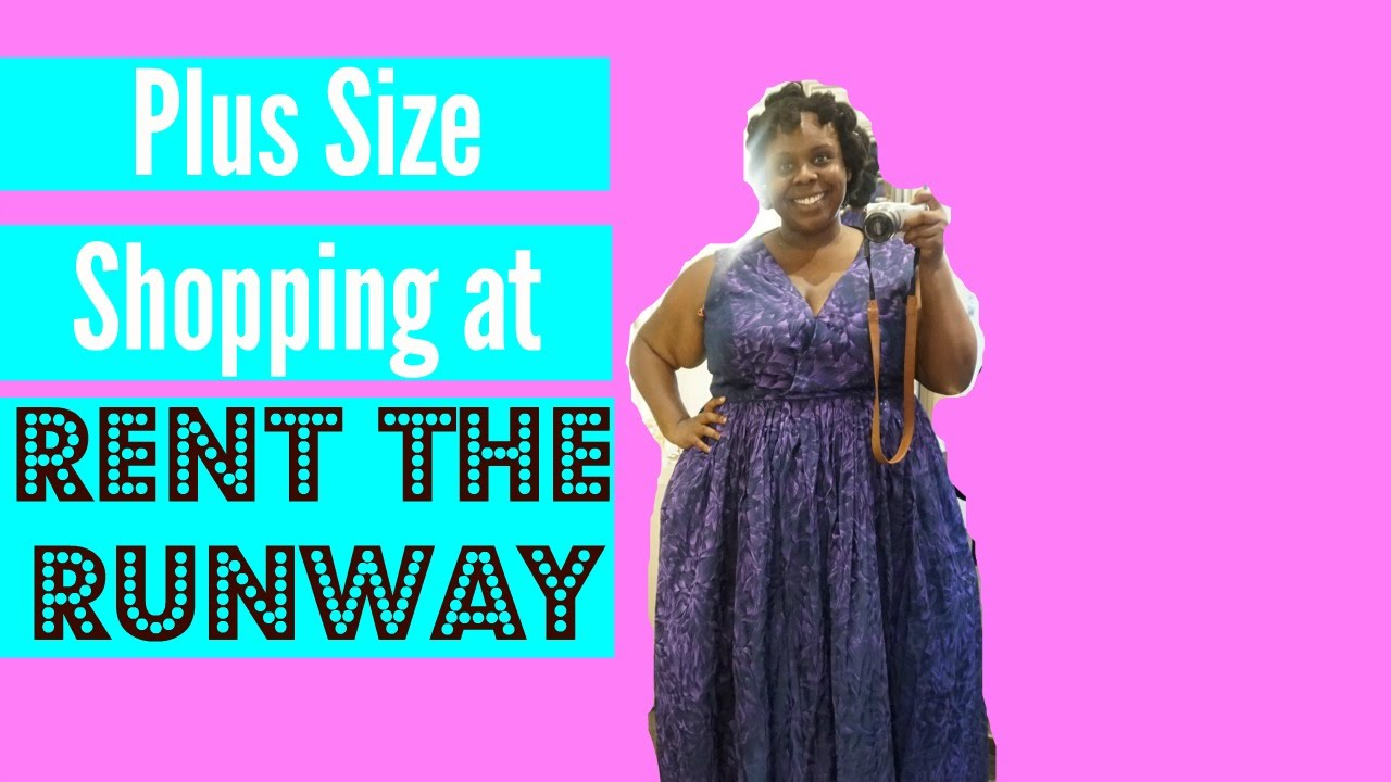 Plus Size Shopping at Rent The Runway | Dressing Room Confidential ...