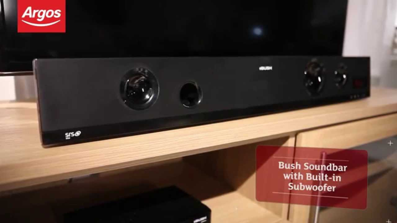 bush cbar4 soundbar with built in subwoofer review by argos youtube. Black Bedroom Furniture Sets. Home Design Ideas