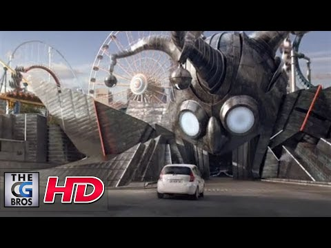 "CGI VFX Spot : ""Ghost Train""  by - Mikros Image"