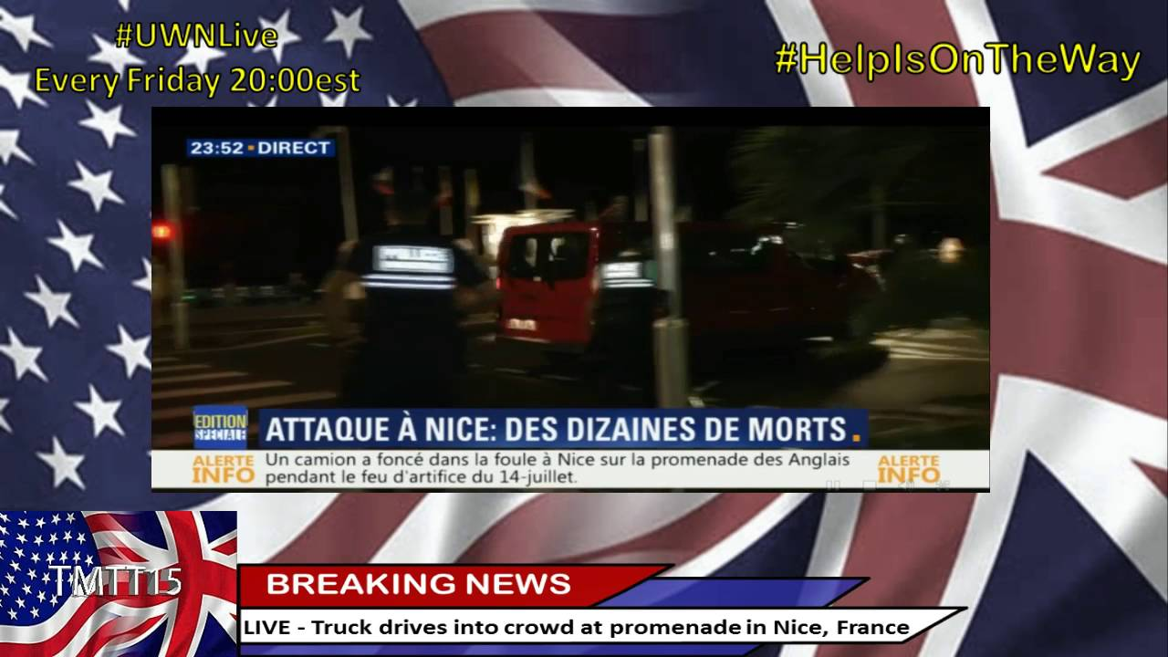 Motorcycle hits semi truck strange accident 31 12 2012 youtube - Truck Drives Into Crowd At Promenade In Nice France 70 Dead 100 S Injured Youtube