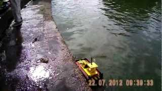AWESOME LITTLE BRUSHLESS  PUSHER TUG _ AA BREAKDOWN RESCUE TUG springer tug