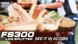 Wood-Mizer FS300 Log Splitter - See It In Action