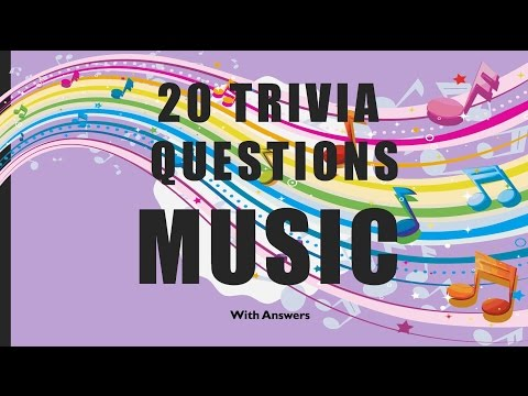 20 Trivia Questions (Music) No. 1