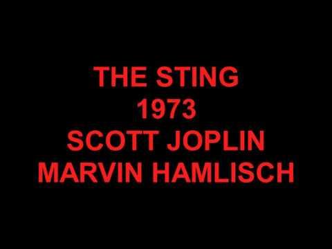 THE STING - SCOTT JOPLIN - MARVIN HAMLISCH