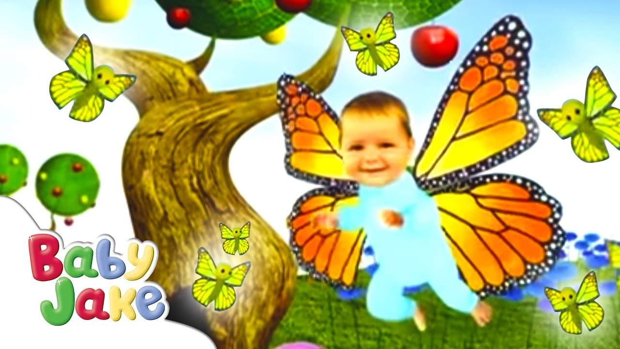 Baby Jake Flies Like A Butterfly - YouTube