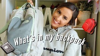 WHATS IN MY BACKPACK   college school supplies haul 2019