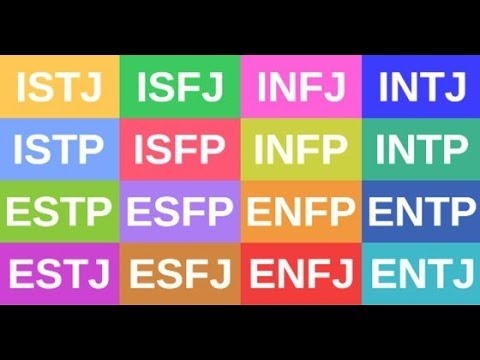 MBTI types portrayed as MUSIC