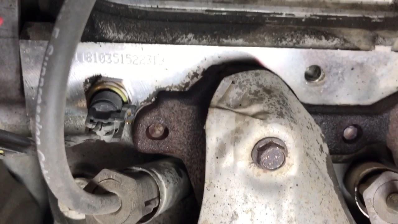 GMC and Chevrolet exhaust manifold leak fix Dorman clamp/bracket