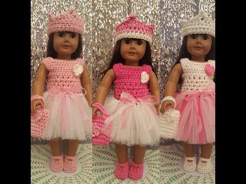 AG Crocheted Tutu Easter Dress -  Tutorial