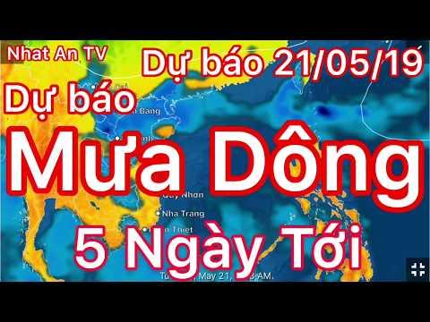 Dự báo thời tiết ngày 21 tháng 05 năm 2019 | dự báo thời tiết 3 ngày tới