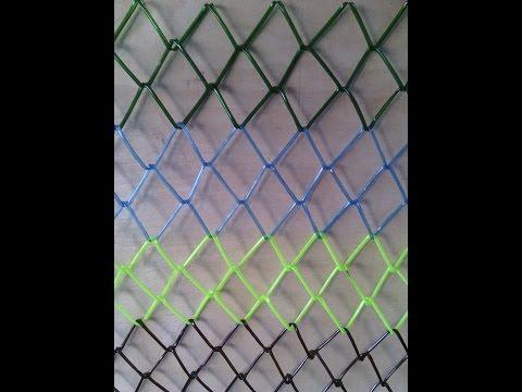 СЕТКА РАБИЦА ИЗ ПЛАСТИКОВЫХ БУТЫЛОК (Mesh netting from plastic bottles)