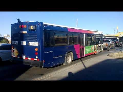 VIA METRO SAN ANTONIO TX BUS VIDEO COMPILATION