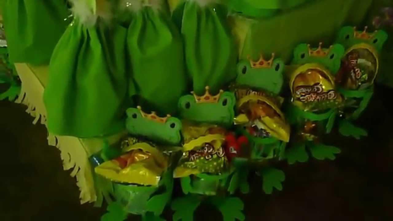 Fiesta de cumplea os de la princesa y el sapo youtube - Sapos y princesas valencia ...