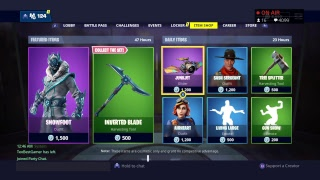 Fortnite Battle Royale Item Shop January 3 new Skin plus 20 Euro Ps4 card GIVEAWAY (English