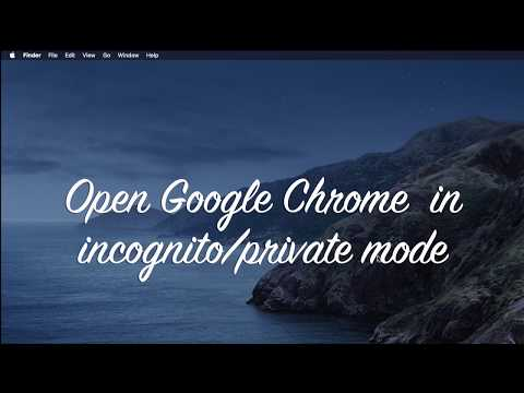How To Open Google Chrome Browser Window In Incognito/private Mode Using Python Selenium WebDriver?