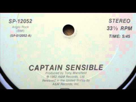 captain sensible  wot 12 version with Lyrics