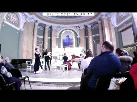 Ave Rosa. Marais. Trio Pieces part 2.AVI