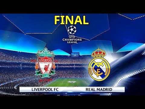 Real Madrid vs Liverpool - UEFA Champions League 2018 Final | Gameplay