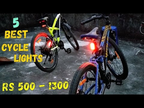 Cycle lights – 5 Best cycle lights you can buy || Bicycle Mtb lights || review & unboxing