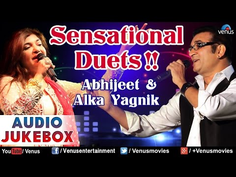 Sensational Duets !!  Abhijeet & Alka  Hindi Songs  Best Bollywood Romantic Songs  Audio Jukebox