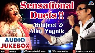 Sensational Duets !! - Abhijeet & Alka | Hindi Songs | Best Bollywood Romantic Songs | Audio Jukebox