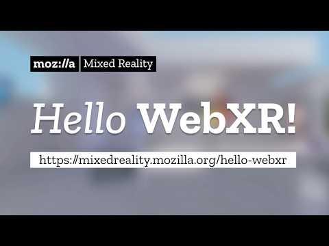 Hello WebXR