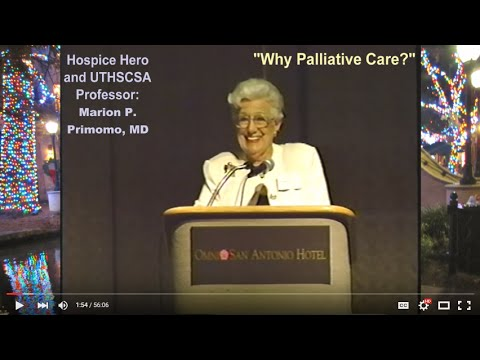 COA99: Aging Conference | Why Palliative Care @ EOL? (1999)