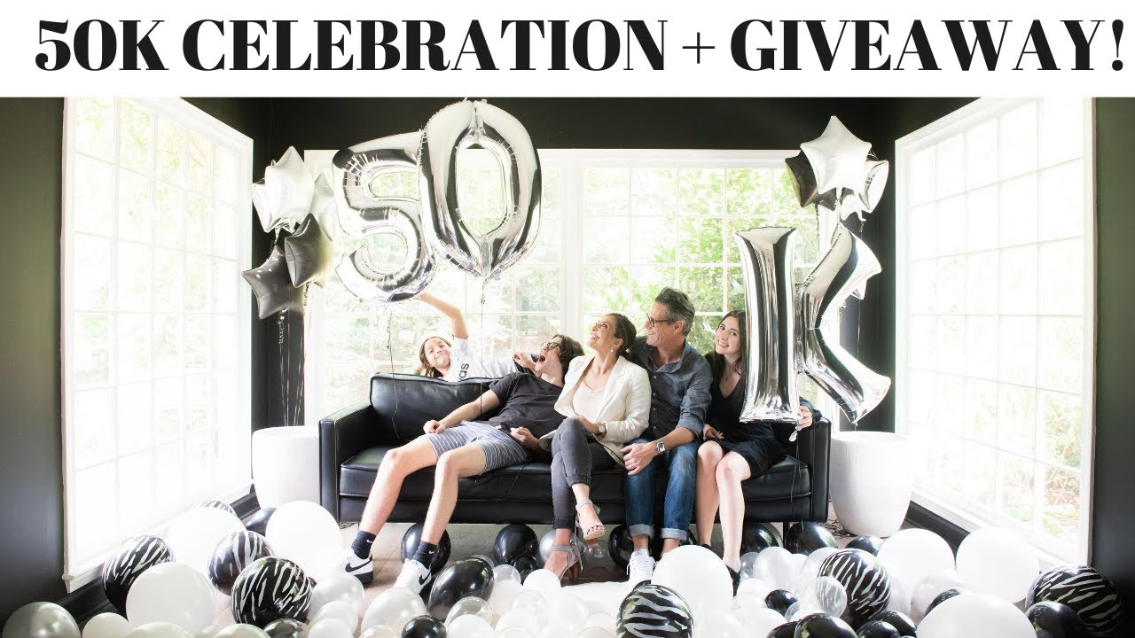 50k Celebration + Design Consultation Giveaway + so many more prizes!!