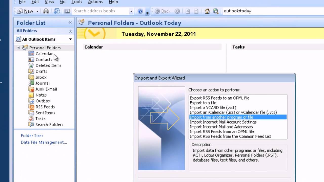 Safe PST Backup - Free Software to back up Outlook PST files