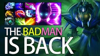 The BADMan Is Back! 9 Slot MEGA Carry Spectre Dota 2