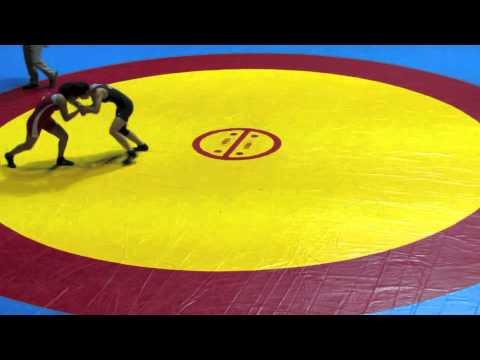 2012 Cadet Pan-American Championships: 46 kg Peru vs. Amy Hou (USA)